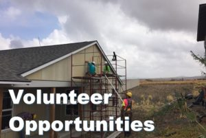 Volunteer Opportunties